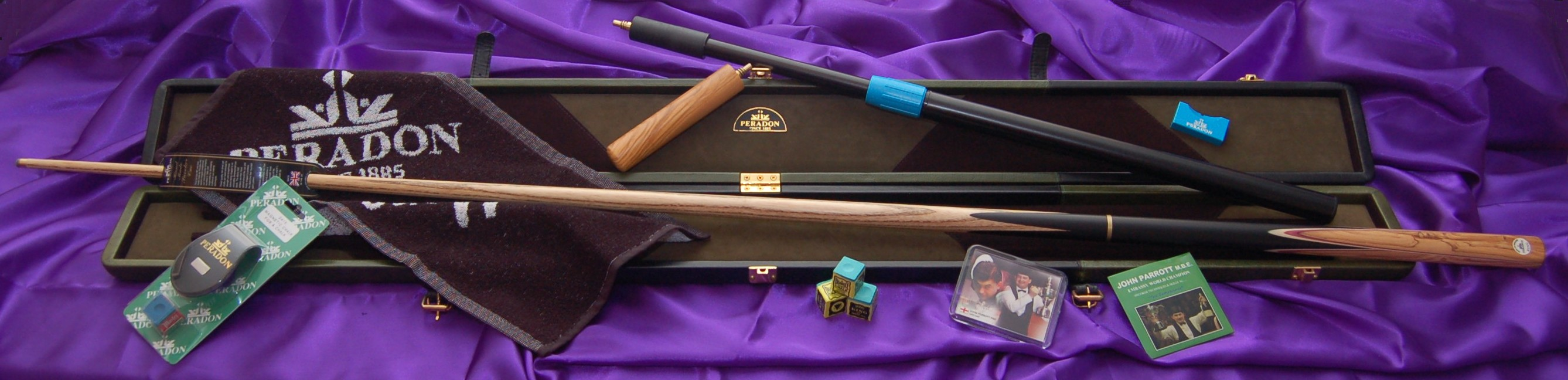 Snooker Cues Cases And Snooker Accessories John Parrott