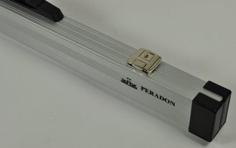 Peradon two-piece aluminium case (close up, closed)