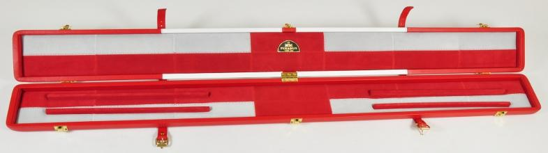Peradon Three-Quarter England Flag Case (Open)