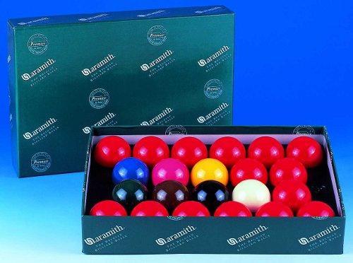 Aramith premier snooker balls 2 1 4 for 1 4 size snooker table