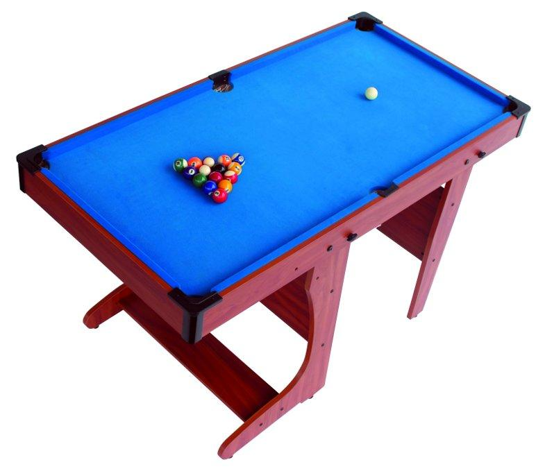 BCE Clifton Pool Table With Vertical Rolling Folding Leg System - Rolling pool table