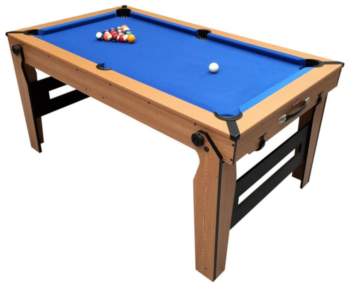 Bce 5ft Rolling Lay Flat 2 In 1 Pool Table Blf 5
