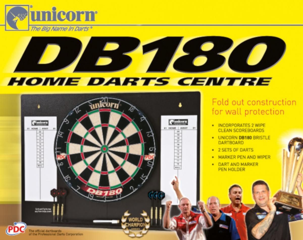 Unicorn DB180 Home Darts Centre (Box)