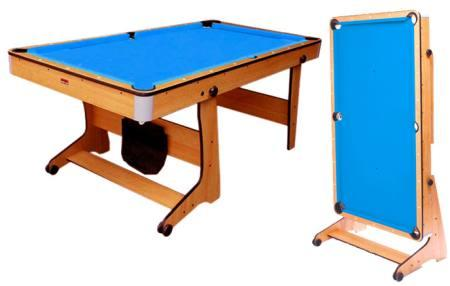 Bce 6 Pool Table With Vertical Rolling Folding Leg System