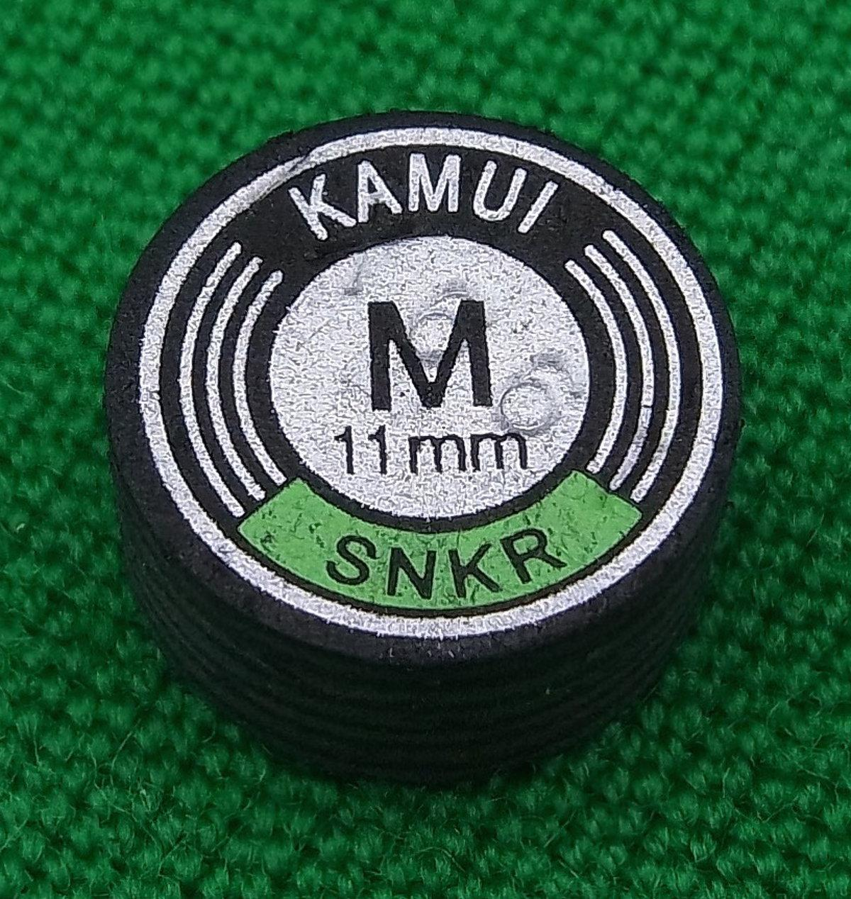 Kamui Black Snooker Tip (11mm, Medium)