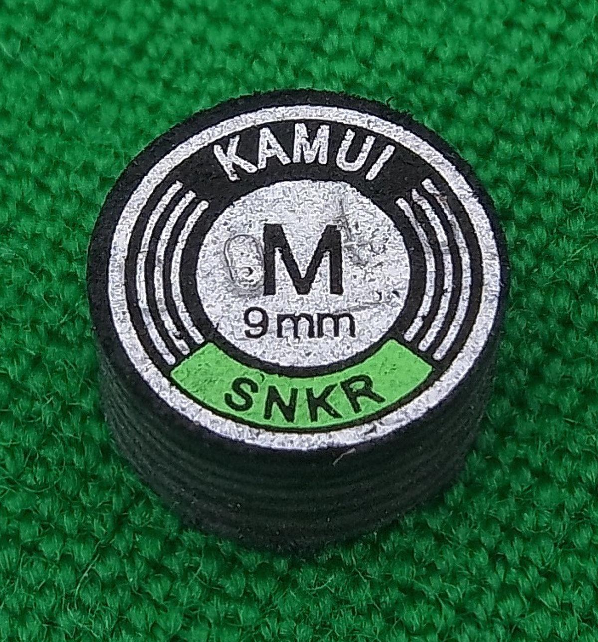 Kamui Black Snooker Tip (9mm, Medium)