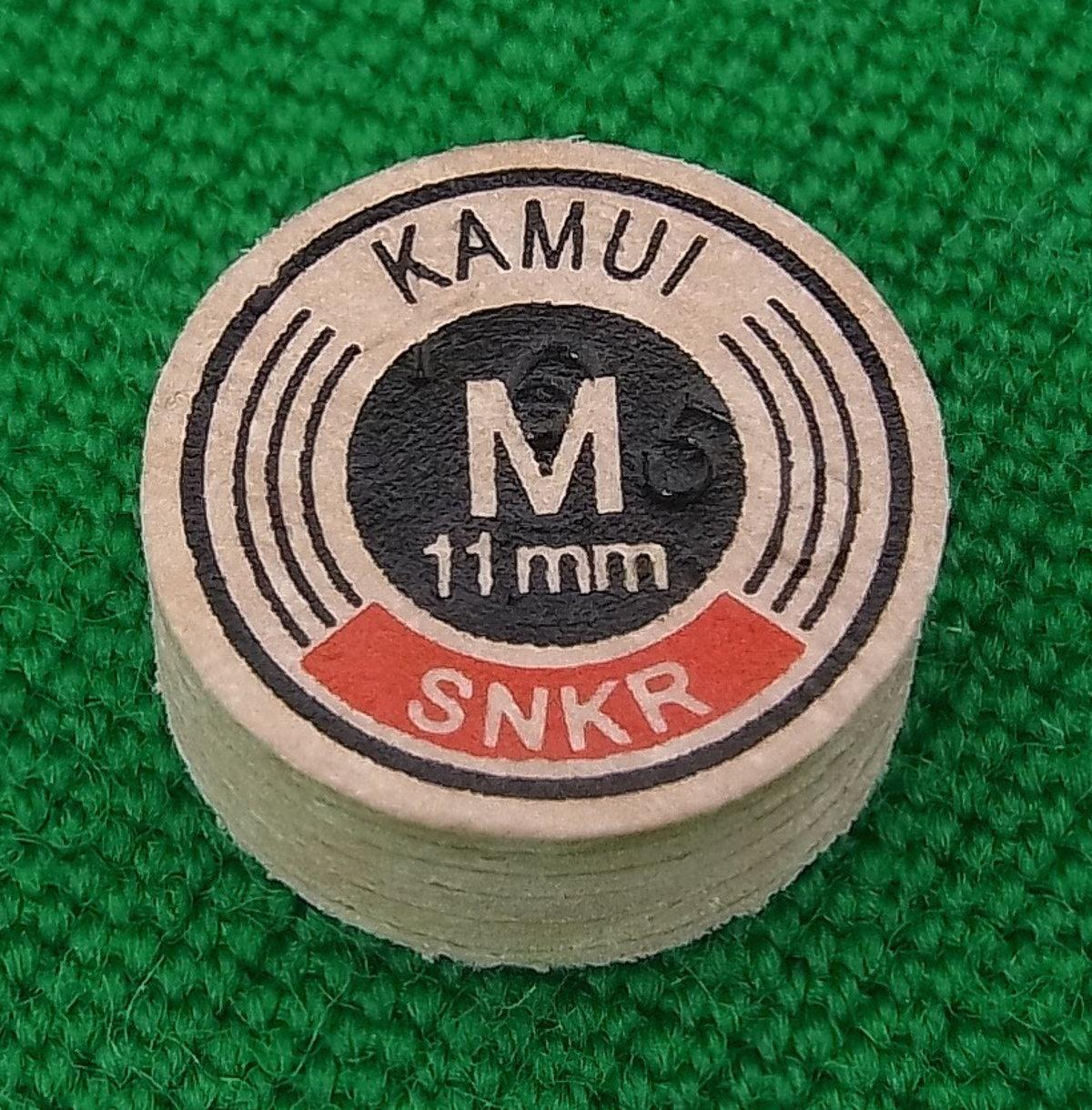 Kamui Original Snooker Tip (11mm, Medium)