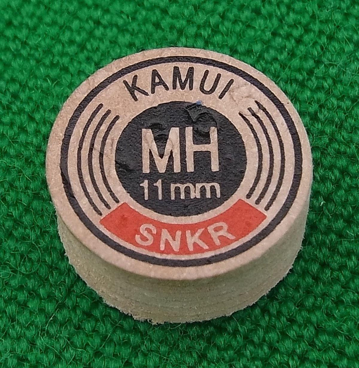 Kamui Original Snooker Tip (11mm, Medium Hard)