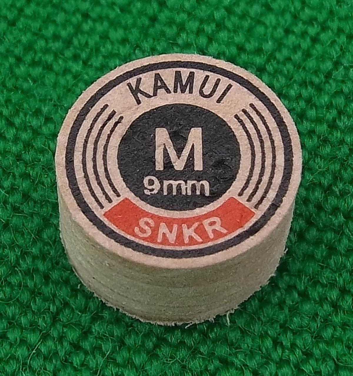 Kamui Original Snooker Tip (9mm, Medium)