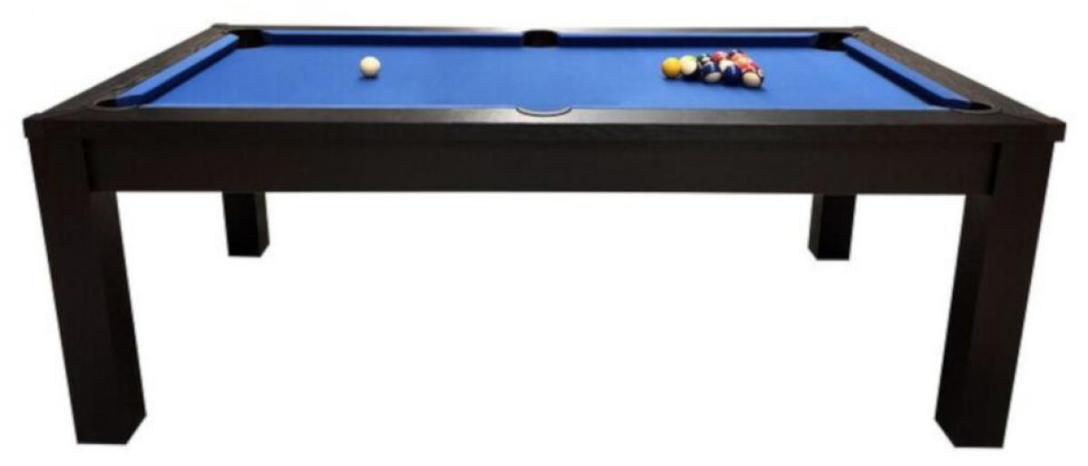 Riley 7ft Black Ash Semi Pro American Pool Table (PT-7-3A-Side)