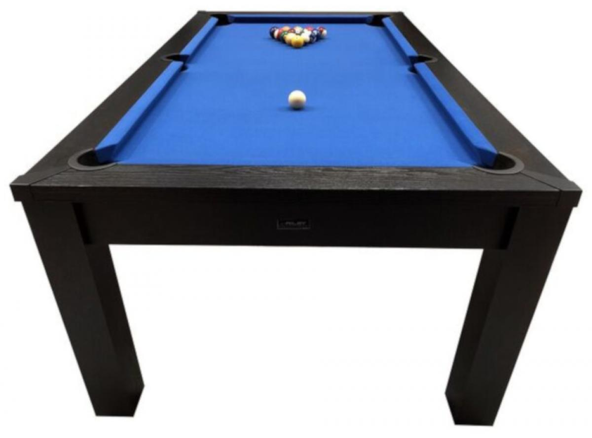 Riley 7ft Black Ash Semi Pro American Pool Table (PT-7-3A-Top)