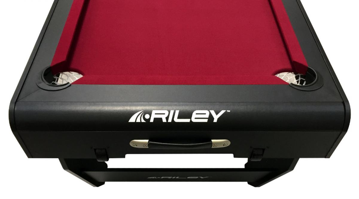 Riley 5ft 'W' Leg Folding Pool Table (PTW-5, End)