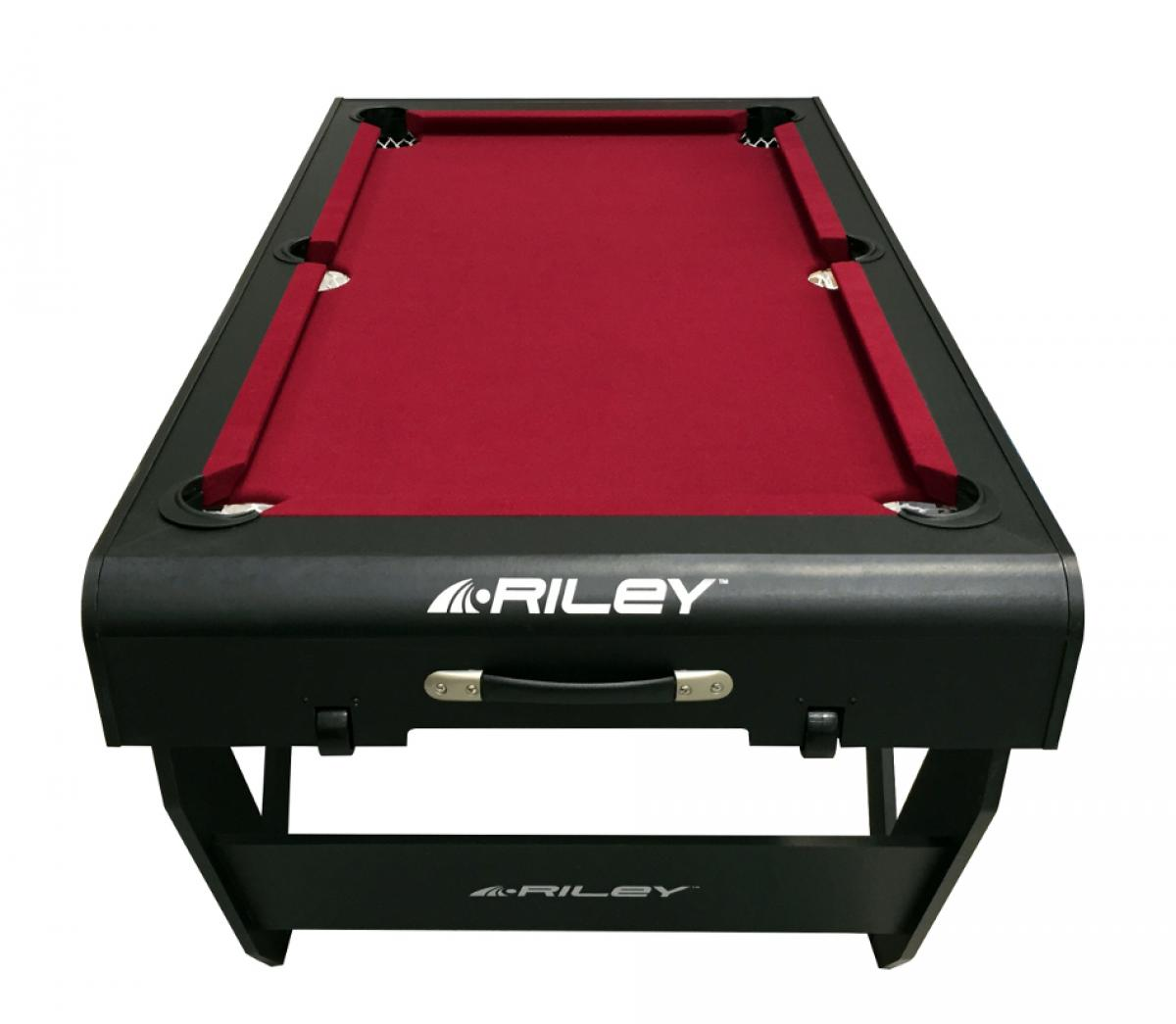 Riley 5ft 'W' Leg Folding Pool Table (PTW-5, Top)