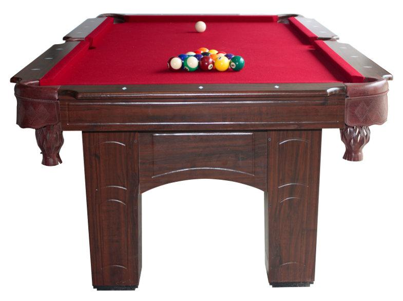 ... BCE Chicago American Pool Table (end View) ...