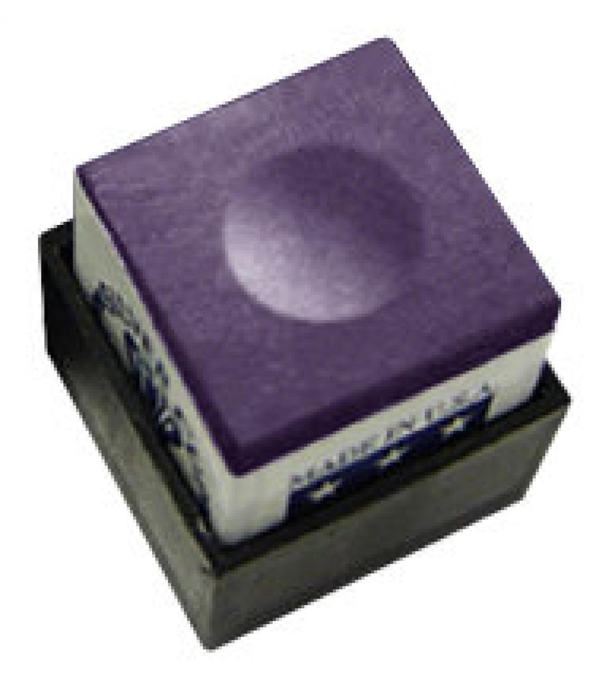 Silver Cup Chalk (purple, single cube)