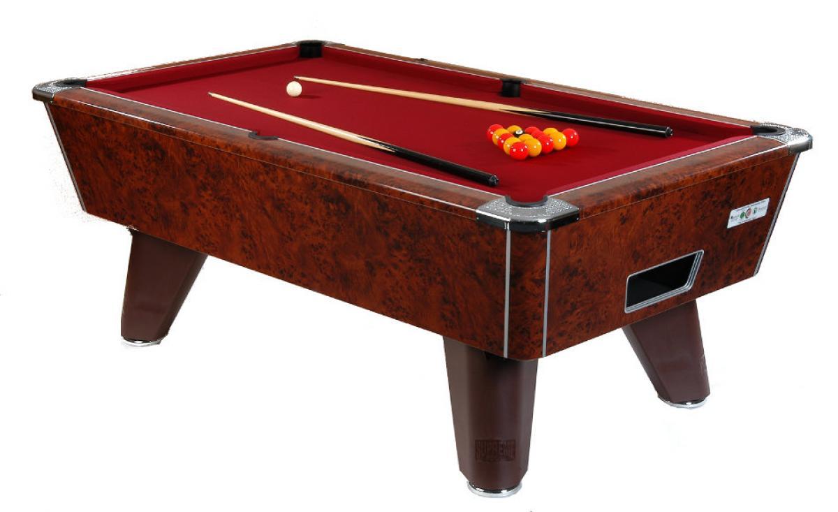 Supreme Pool Winner Pool Table Walnut - How high is a pool table