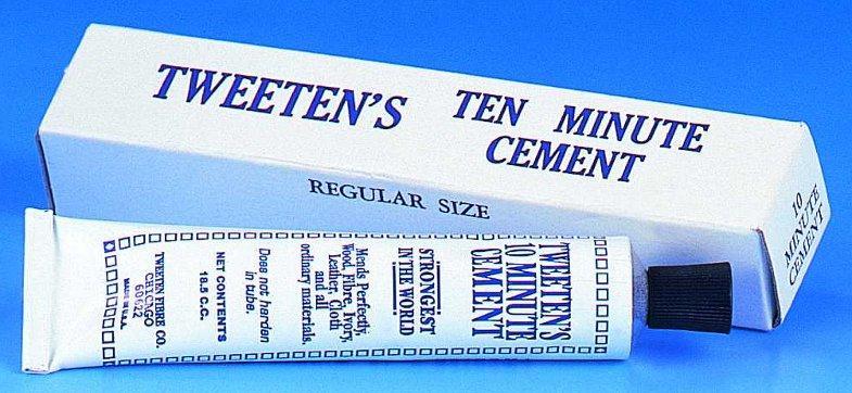 Tweeten Cue Tip Cement 3 x 11mm Blue Diamond Tips